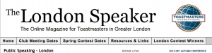 The London Speaker