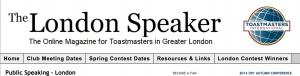 The London Speaker