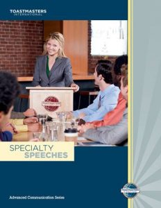 speciality speeches manual